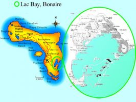Lac-bay-bonaire-map