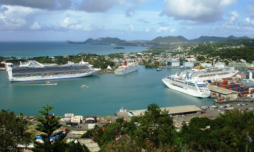 What is there to do in Castries?