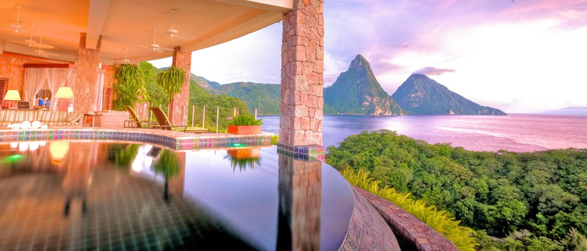 Luxury in Soufriere, St Lucia