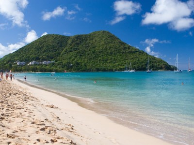 St Lucia - Battle of the Beaches