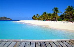 Palm Island Beach Resort Grenadines - Caribbean private island resort.