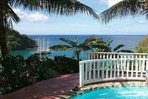 St Lucia Diving : Oasis Marigot's Ocean Cottage Great Value Resort