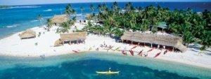 Adventure Island at Glover's Reef, Belize
