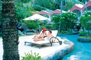Luxury colonial hotel in Barbados